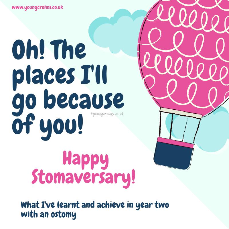 Happy 2nd Stomaversary!