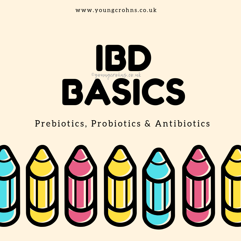 IBD Basics: Prebiotics, Probiotics & Antibiotics