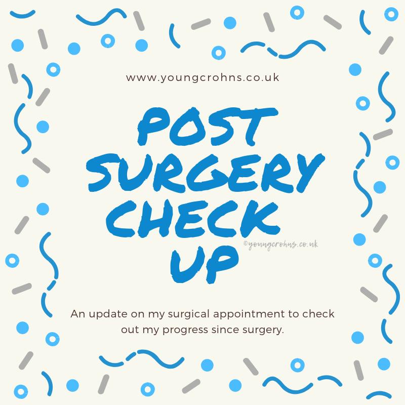 Post Surgery Check Up